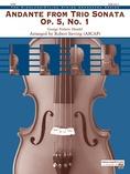 Andante from Trio Sonata Op. 5, No. 1 - String Orchestra