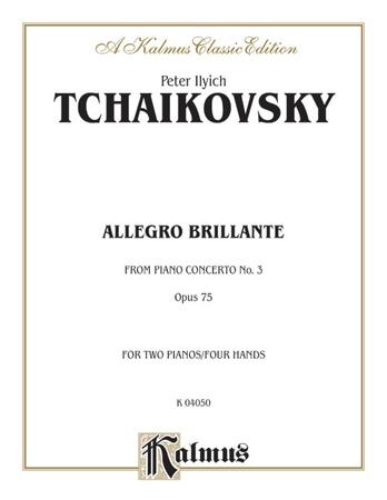 Tchaikovsky: Allegro Brillante (1st movement of Piano Concerto No. 3, Op. 75) - Piano Duets & Four Hands