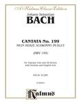 Bach: Soprano Solo, Cantata No. 199, Mein Herze Schwimmt Im Blut(German) - Voice
