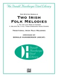 Two Irish Folk Melodies - Concert Band