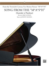 Suicide is Painless (Theme from M*A*S*H) - Piano/Vocal/Chords