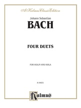 Bach: Four Duets for Violin and Viola - String Ensemble