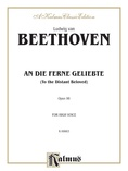 Beethoven: An Die Ferne Geliebte (To the Distant Beloved), Op. 98 (High voice, German/English) - Voice