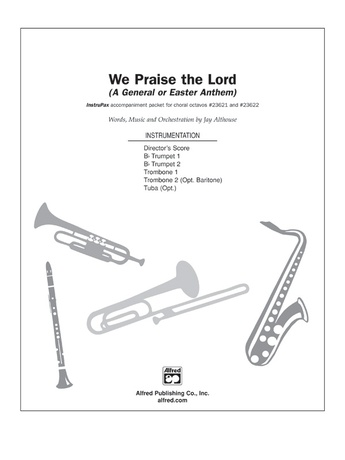 We Praise the Lord - Choral Pax