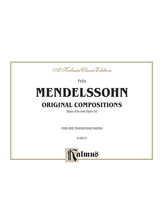 Mendelssohn: Op. 83a & Op. 98 - Piano Duets & Four Hands