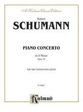 Schumann: Piano Concerto in A Minor, Op. 54 - Piano Duets & Four Hands