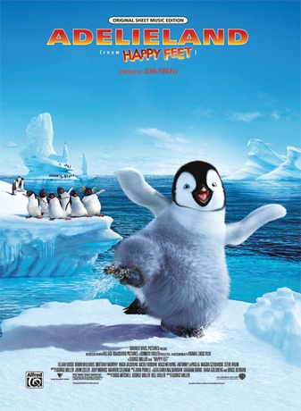 Adelieland (from Happy Feet) - Piano/Vocal/Chords