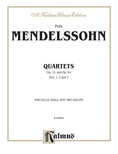 String Quartets, Op. 12; Op. 44, Nos. 1, 2 & 3 - String Quartet