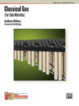 Classical Gas (For Solo Marimba) - Mallet Instrument