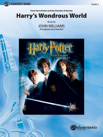 Harry's Wondrous World (from Harry Potter and the Chamber of Secrets) - Concert Band