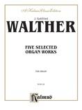 Vierne: Five Selected Organ Works - Organ