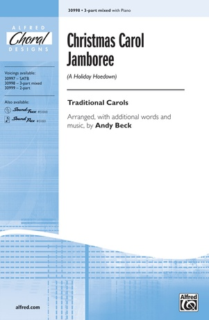 Christmas Carol Jamboree (A Holiday Hoedown) - Choral