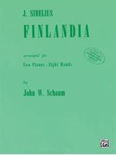 Finlandia - Piano Quartet (2 Pianos, 8 Hands) - Piano