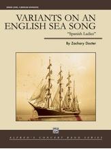 Variants on an English Sea Song - Concert Band