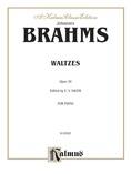 Brahms: Waltzes, Op. 39 - Piano