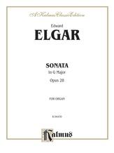 Elgar: Sonata in G Major (Urtext) - Organ