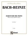 Bach: Album for the Piano (Ed. Heinze) - Piano