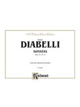 Diabelli: Sonatas, Op. 32, 33, 37 - Piano Duets & Four Hands