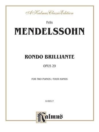 Mendelssohn: Rondo Brillante - Piano Duets & Four Hands