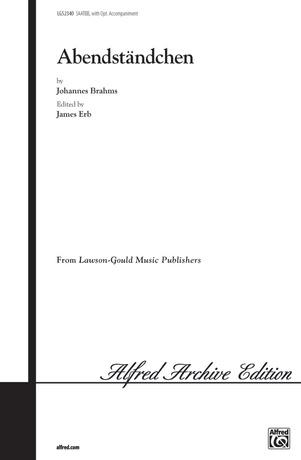 Abendständchen (Evening Serenade) - Choral