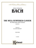 Bach: The Well-Tempered Clavier (Volume I) (Ed. Hans Bischoff) - Piano