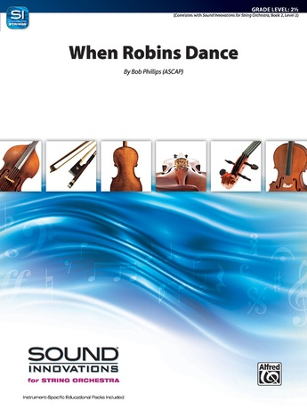 When Robins Dance - String Orchestra