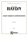 Haydn: Eight Various Compositions - Piano