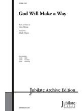 God Will Make a Way - Choral