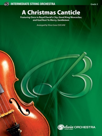 A Christmas Canticle - String Orchestra