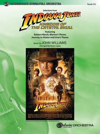 Indiana Jones and the Kingdom of the Crystal Skull, Selections from - Full Orchestra