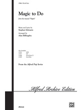 Magic to Do (from <I>Pippin</I>) - Choral