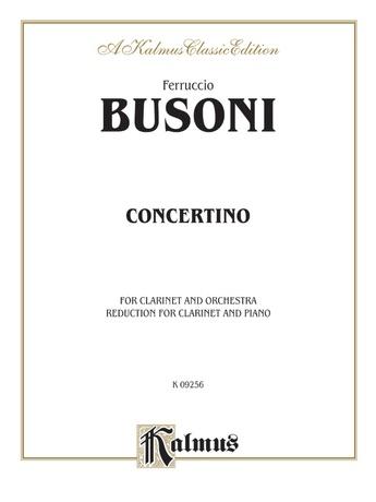 Busoni: Concertino - Woodwinds
