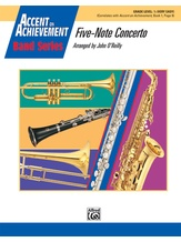 Five-Note Concerto - Concert Band