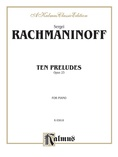 Rachmaninoff: Ten Preludes, Op. 23 - Piano