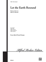 Let the Earth Resound - Choral