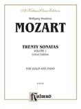 Mozart: Twenty Sonatas (Urtext), Volume I - String Instruments