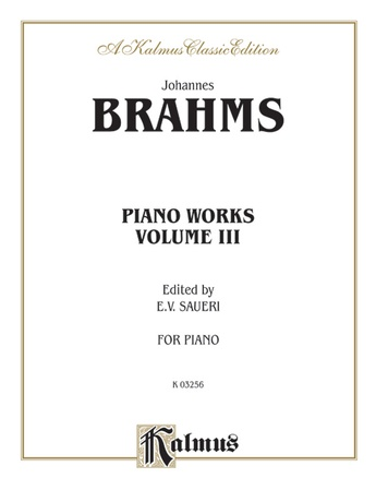 Brahms: Piano Works, Volume III (2 Concertos, Paganini Variations & Waltzes) - Piano