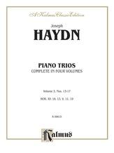 Haydn: Piano Trios, Volume III (Nos. 13-17) - String Ensemble
