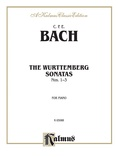 Bach: The Württenburg Sonatas (Volume I, Nos. 1-3) - Piano