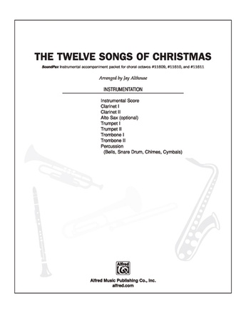 The Twelve Songs of Christmas - Choral Pax