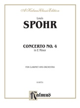 Spohr: Concerto No. 4 in E Minor - Woodwinds