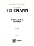 Telemann: Nine Chorale Variations - Organ