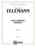 Telemann: Nine Chorale Variations - Organ