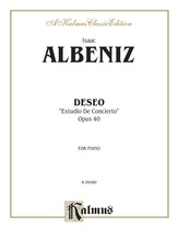 Albéniz: Deseo (Estudio de Concierto) - Piano