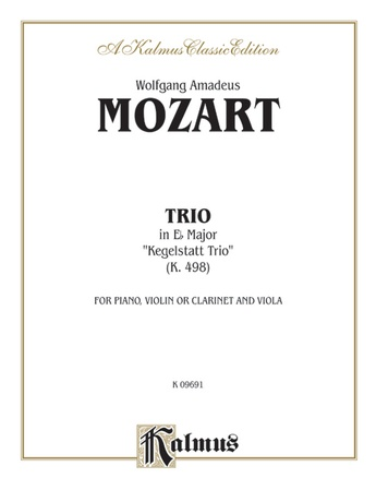 "Mozart: Trio in E flat Major, ""Kegelstatt Trio"" (K. 498) - Mixed Ensembles"