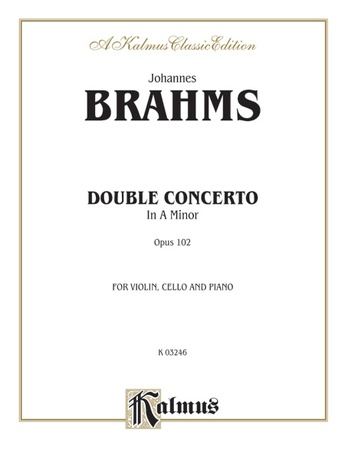 Brahms: Double Concerto in A Minor, Op. 102 - String Ensemble