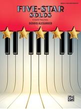 Five-Star Solos, Book 6: 6 Colorful Piano Solos - Piano