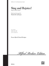 Sing and Rejoice! - Choral