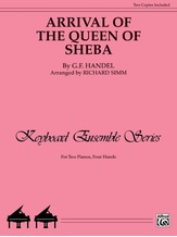 Arrival of the Queen of Sheba - Piano Duo (2 Pianos, 4 Hands) - Piano Duets & Four Hands