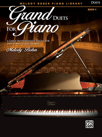 Grand Duets for Piano, Book 4: 6 Early Intermediate Pieces for One Piano, Four Hands - Piano Duets & Four Hands